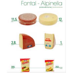 Fontal Alpinella todos los formatos
