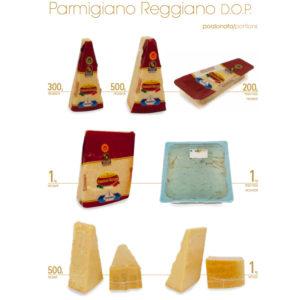 parmigiano reg. vari form.