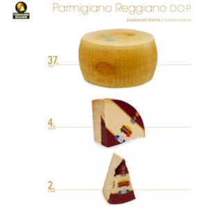 parmigiano reggiano vari format